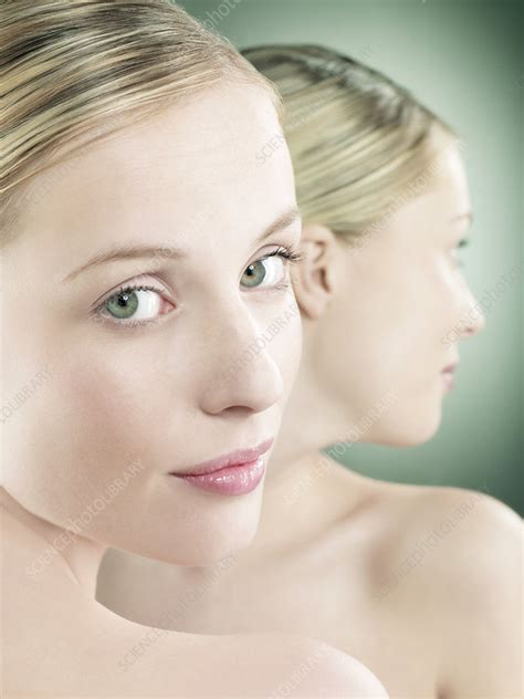 Womans Face Stock Image F0012247 Science Photo Library