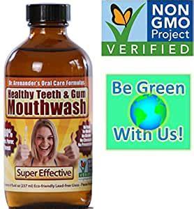 Amazon.com : Healthy Teeth & Gum MOUTHWASH - Organic