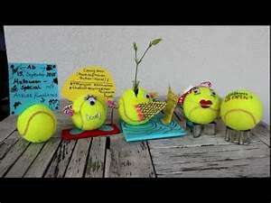 Zettelhalter Selber Basteln : diy tennisball tennisb lle basteln 5 upcycling ideen ~ Lizthompson.info Haus und Dekorationen