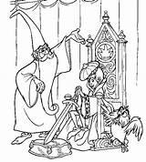 Merlin Coloring Wizard Fun Votes sketch template