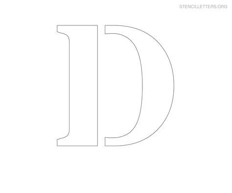 large stencil letters stencil letters d printable free d stencils stencil