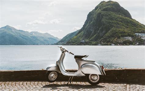 wallpaper vespa scooter  ultra hd