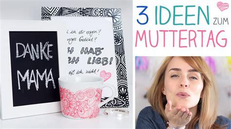 Muttertagsgeschenk Idee Diy by Diy 3 Muttertag Ideen Individuell Einfach