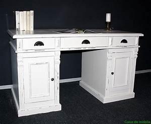 Schreibtisch Vintage Weiß : schreibtisch wei vintage ~ Lateststills.com Haus und Dekorationen