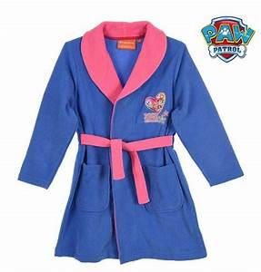 la pat patrouille robe de chambre polaire 2 couleurs t 3 With robe de chambre pat patrouille