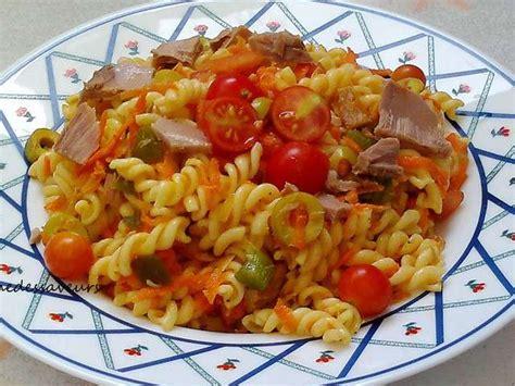 recettes de salade de pates au thon