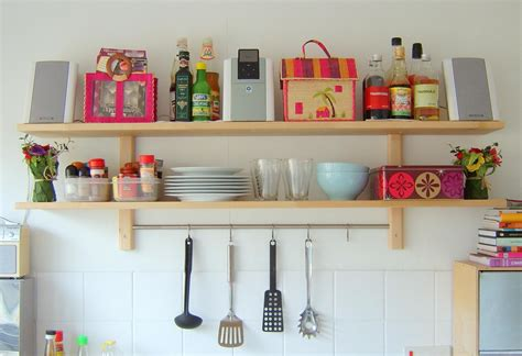 collection  kitchen wall shelves