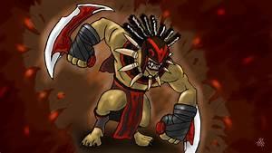 Dota 2 Bloodseeker Hero Game Wallpapers HD Download