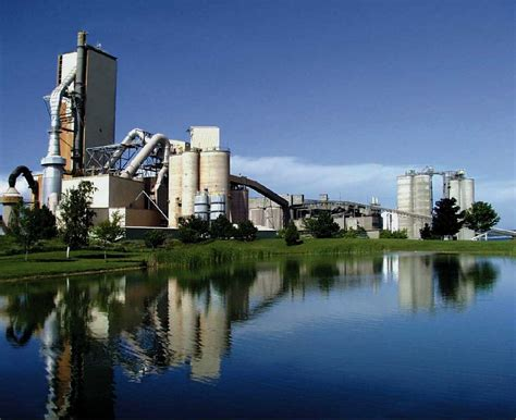 cement industry honors st marys plant  land