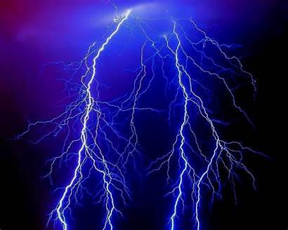 Lightning Storm Thunder Wallpapers Purple Desktop Electric
