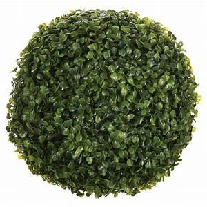 Boule De Buis : plante artificielle boule de buis 26cm vert ~ Melissatoandfro.com Idées de Décoration