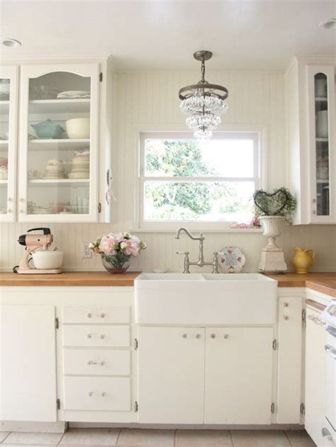 farmhouse shabby chic shabby chic farmhouse sink home decorating trends homedit
