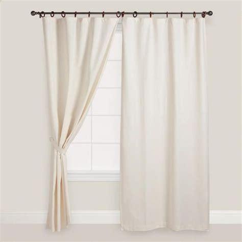 jaya canvas ring top curtain world market