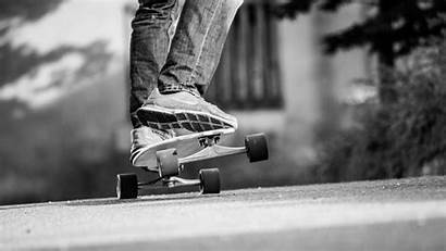 Skate Skateboard Bw Legs Skateboarding Laptop Background