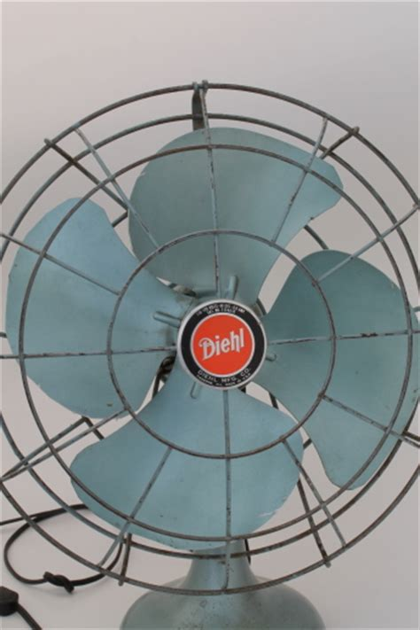 one stop fan shop vintage diehl electric fan in working condition