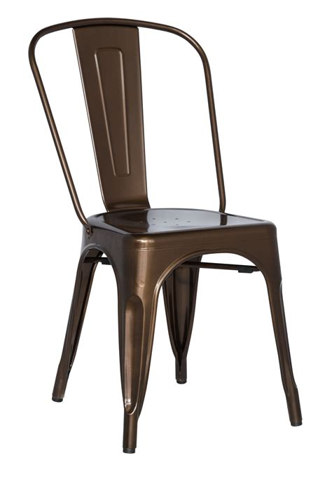 chintaly imports 8022 galvanized steel side chair