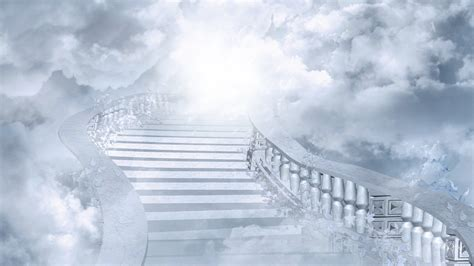 White Broad Stairs To Heaven #4242023, 1920x1080
