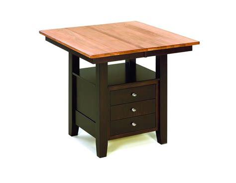 kitchen table with storage camden amish kitchen table with storage drawers from