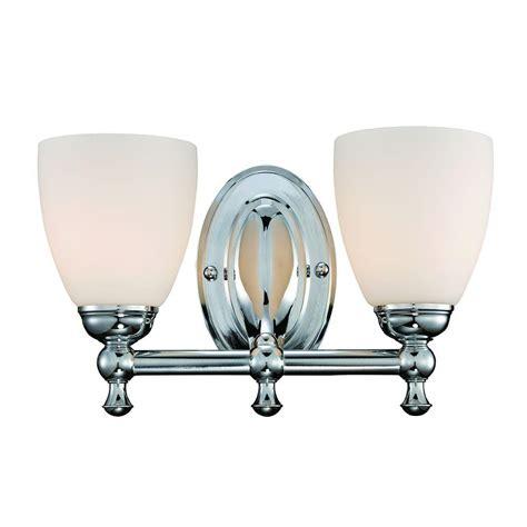 hton bay vanity light hton bay 2 light polished chrome vanity light