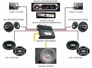 Component Car Stereo Wiring Diagram