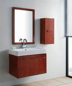 china red solid wood bathroom vanity unit set gbw009 With red vanity units for bathroom