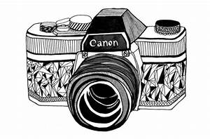 Camera Tumblr Drawing | fashion.trending.space - ClipArt ...