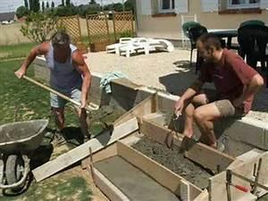 Fabriquer Grande Jardiniere Beton : marche de la terrasse youtube ~ Melissatoandfro.com Idées de Décoration