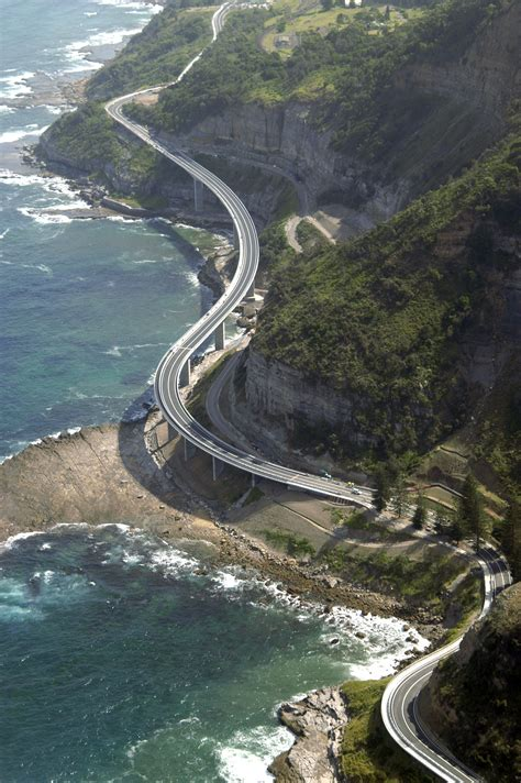 Sea Cliff Bridge At Coalcliff Nsw Australia New