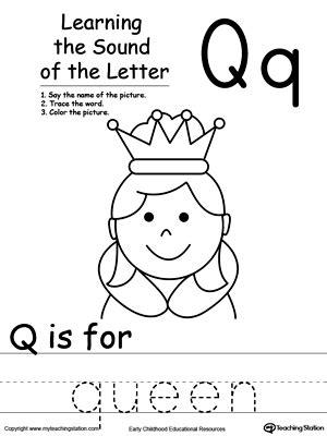 all worksheets 187 letter q worksheets for preschool