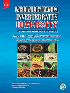 Laboratory Manual Invertebrates Diversity For Associate