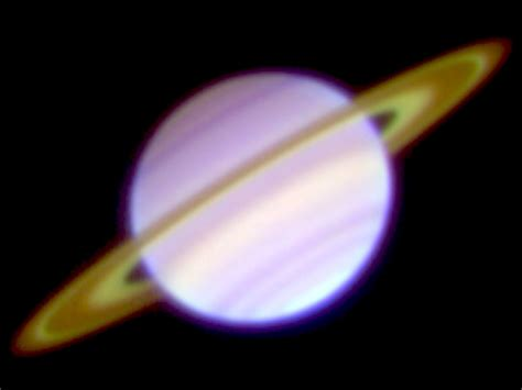 Researchers Measure Brightness, Temperatures of Saturn's ...