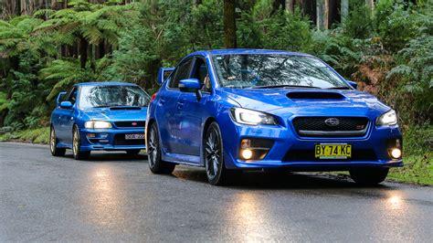 Subaru Wrx Sti Old V New Comparison