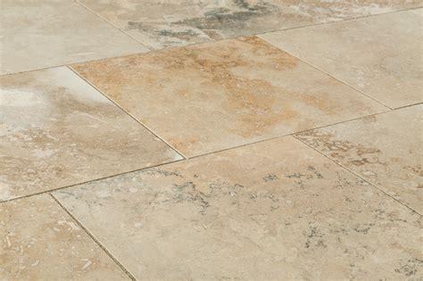 antique travertine honed filled wall  floor tiles