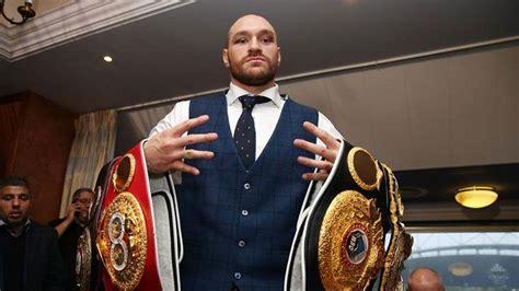 Tyson Fury comeback draws near as Frank Warren slams ...