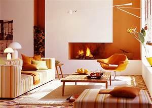 Wohnen Mit Farben Warme Aber Frische Tne Frs Wohnzimmer