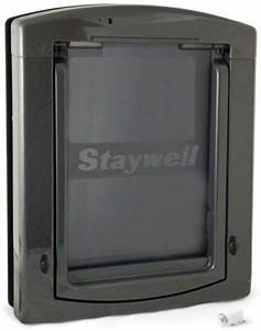 staywell infrared 861 dog door with locking barrier With staywell dog door