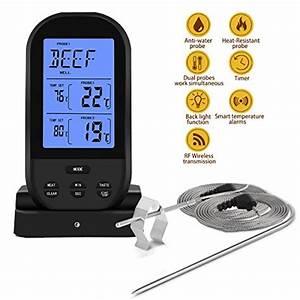Eleston Wireless Remote Dual Probe Meat Thermometer