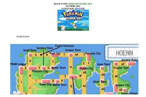 Pokemon flora sky rom download gba4ios