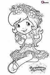 Strawberry Shortcake Coloring Pages Printable Colouring Sheets Cartoon Disney Princess Books Dn Printables Coloringpagebase Characters Adult Pets Drawings Shopkins Ninjago sketch template