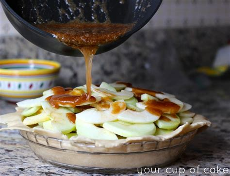 Canning apple pie filling is such a great way to store the filling because it can keep on the shelf, unopened for years. Caramel Apple Pie - Your Cup of Cake