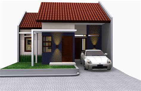 contoh desain rumah minimalis type 45 architecture design