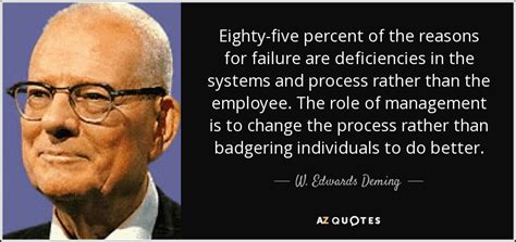 edwards deming quote   percent