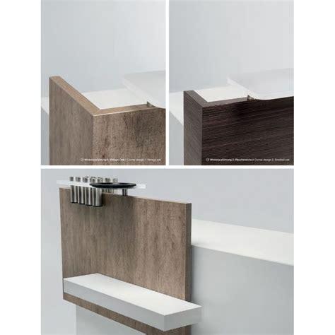 comptoir reception table de coiffage olymp corner