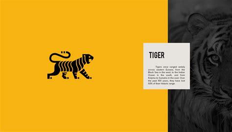 designers create series  beautiful animal logos  raise