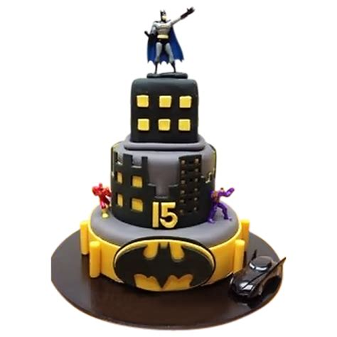 superhero themed cake birthday cake  kids
