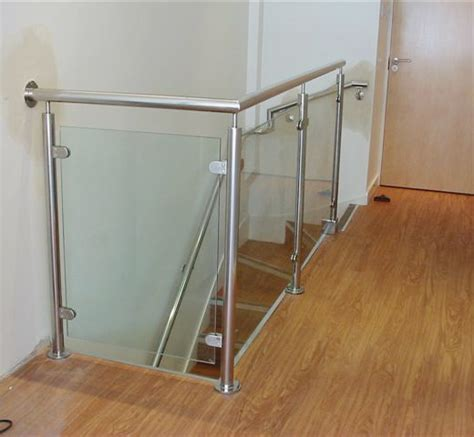 Cable Balcony Railing by Interior Stainless Steel Glass Handrail Balustrade View