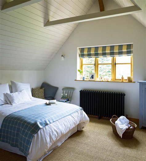modern cottage bedroom a modern oak cottage homebuilding renovating 12556 | Modern Oak Cottage Bedroom