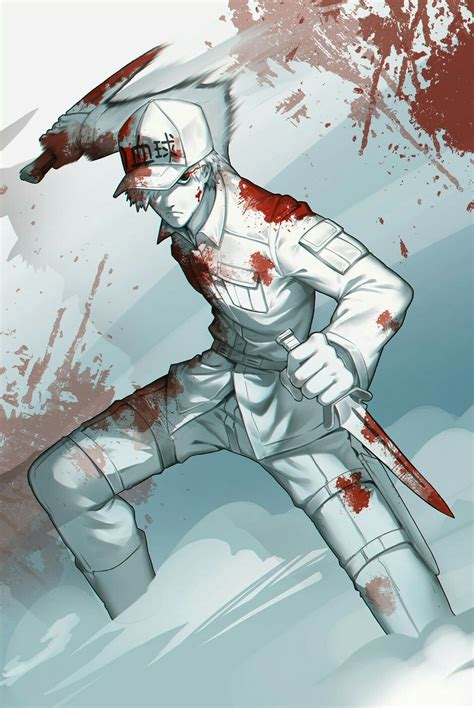 cells  work white blood cell anime anime images