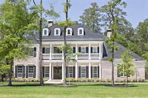 antebellum style house plans plantation style house plans 5120 square foot home 2 story 5 bedroom and 5 bath 3 garage
