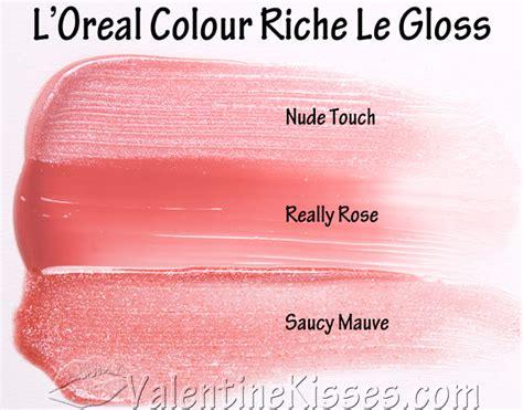 Loreal Xo kisses l oreal colour riche le gloss really